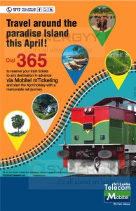 Sri Lanka Train Booking by Mobile Phone by Mobitel