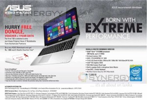 Asus X555LA-XX622D notebook for Rs. 77,000 in Sri Lanka