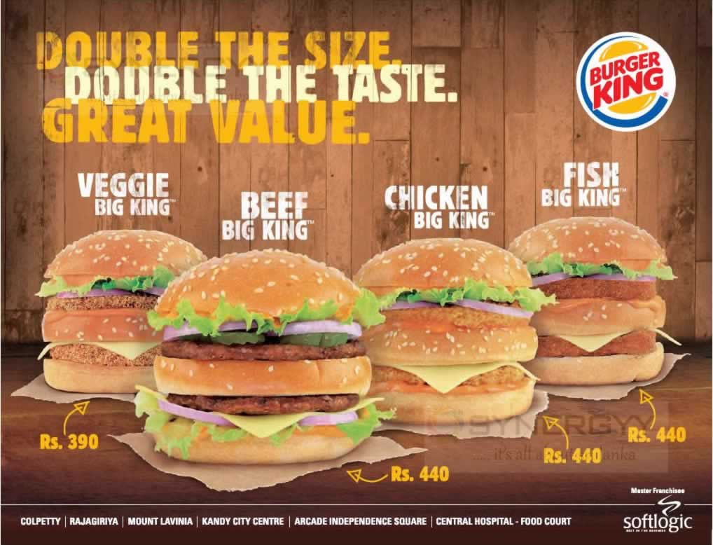 Burger King Sri Lanka Promotion 171 Synergyy
