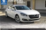 Peugeot 508 Diesel Hybrid 4 Now available in Sri Lanka for Rs. 8.9 Million