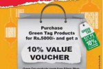 Glitz Super Shopping Promotion purchase Rs. 5000 or more and get 10% Value Voucher for free – Till 18th July 2015