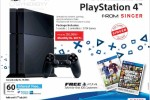 Introductive Offer for PlayStation 4 from Singer – Rs. 120,999 Only