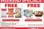 Keells Weekend Specials Promotion for HSBC Credit Cards – till 31st July 2015