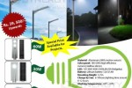 Solar Street & Garden Lights for 15W to 60W for Rs. 39,500.00 Upwards