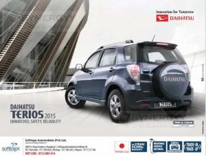 Daihatsu Terios 2015 for Rs. 4,950,000- from Softlogic Automobiles