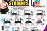 Dell/Hp/Lenovo Laptop Special Prices for Students with 4 Years Warranty from Abans