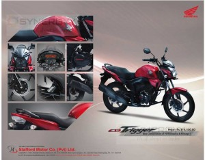 Honda CB Trigger Price and review in Sri Lanka – Rs. 314,500/-
