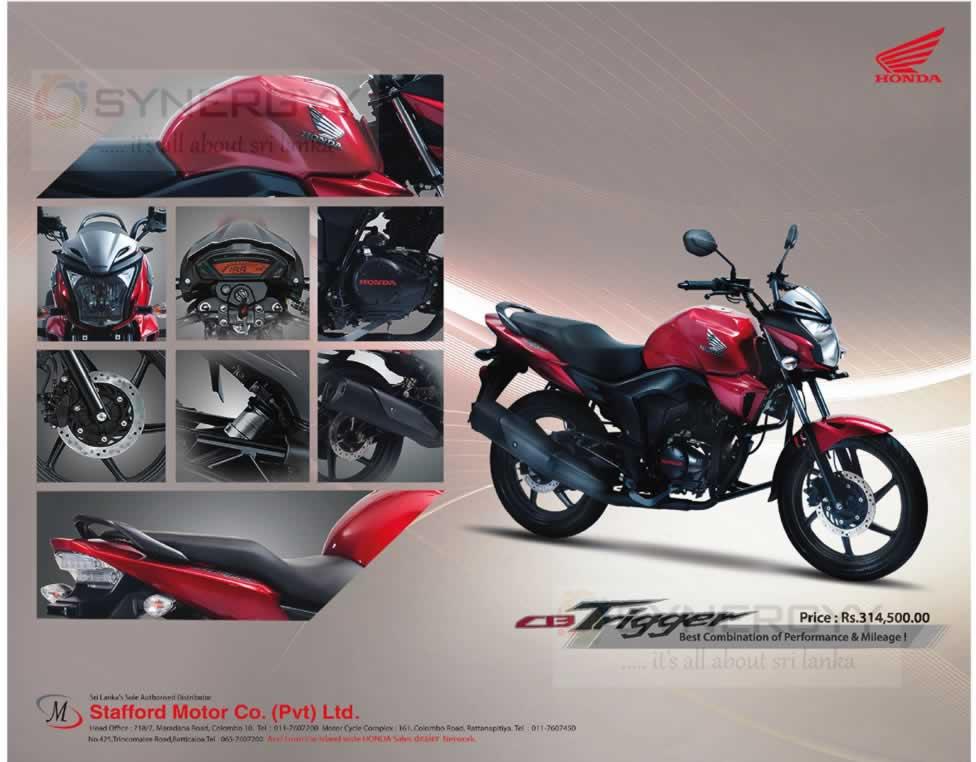 Honda Cb Trigger Price And Review In Sri Lanka Rs 31450000
