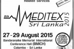 Meditex Sri Lanka 2015 from 27th to 29th August 2015 at BMICH