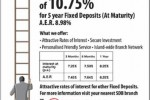 Sanasa Development Bank Fixed Deposits Interest Rate – 10.75%