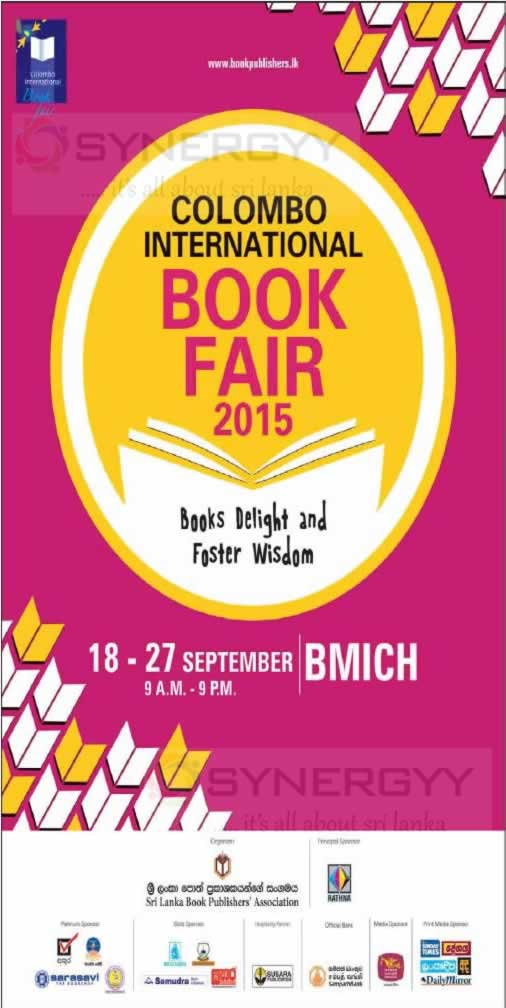 Colombo International Book Fair At Bmich From 18 To 27th