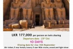 Jetwing Egypt Tour for 10 Days