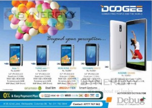 DOOGEE Mobile in Sri Lanka