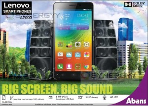 Lenovo A7000 for Rs. 30,990- from Abans