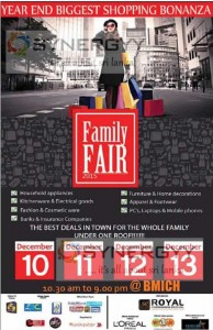 Family Fair 2015 - Biggest Shopping Bonanza at BMICH from 10-13 December 2015