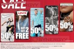 Year End Sale Discount upto 50% for Nike, Levi's, Giordano Pepe Jeans and international watches
