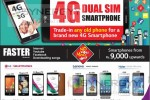 4G Dual Sim Smartphone for Rs. 9,000/- upwards from Abans