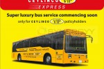 Ceylinco VIP Express Bus Service for Policy Holders – New Revolution in Sri lankan Insurance Industry