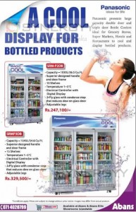 Panasonic Cool Display for Bottle Products
