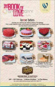 Valentines Day Promotion at The Bakery at the edge