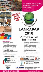 Lankapak 2016 – Packaging Exhibition in Colombo