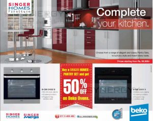 Complete Kitchen from Singer Homes