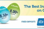 Highest Interest Rate for Fixed Deposits from Commercial bank PLC