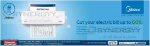 Cut your electric bill up to 60% with Midea inverter Air Conditioner