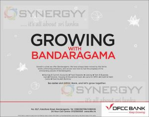 DFCC Bank Now in Bandaragama