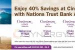 Enjoy 40% off at Cinnamon Resorts with Nations Trust Bank American Express Credit Card