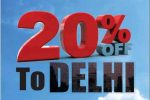 Fly New Delhi with Air India and get 20% Off – Booking Open till 6th June 2016