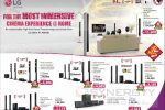 LG Home Theatre Systems – Rs. 26,999/- upwards