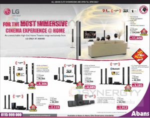 LG Home Theatre Systems – Rs. 26,999.00 upwards