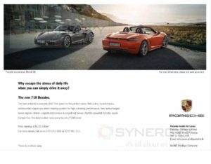 Porsche The new 718 Boxster Now in Sri Lanka for Rs. 22 Million