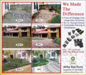 DIY Paving with the support of McRay Kent Pavers