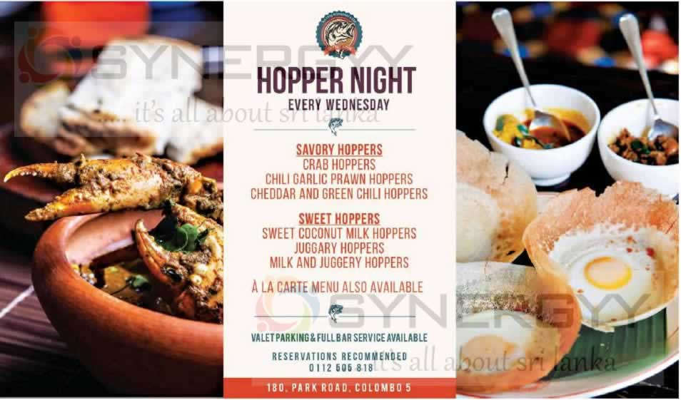 Hopper Night on every Wednesday at Off The Hook