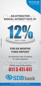 Sanasa Development Bank offers highest Interest rate for 6 Month Fixed Deposits
