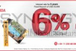 USD NRFC / RFC / SFIDA Fixed Deposits Interest rate from 4% & 6% from Seylan Bank
