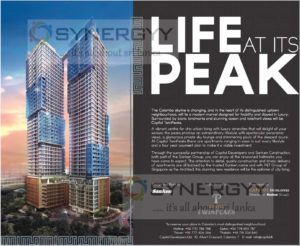 Capital Twinpeaks Condominium Appartment in Colombo