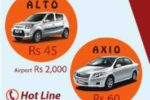 Carson Taxi Service for Rs. 45 per Km upwards