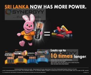 Duracell Now in Sri Lanka for Rs. 230.00 upwards