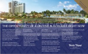 Dusit Thani Beachfront Condominium for USD 244,000 upwards