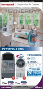 Honeywell Evaporative Air Coolers Now available at Abans