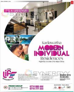 Prime Life Kadawatha – Modern Individual Residence for 14 Million upeards