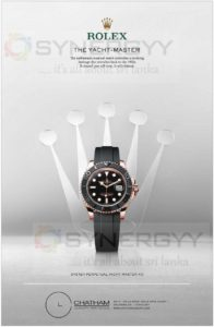Rolex Oyster Perpetual Yacht Master 40 Now available in Sri Lanka