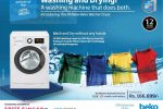Beko front Loading Washing Machine for Rs.  166,999/-