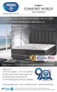 25% Discount on Spring Air Mattresses from Comfort World