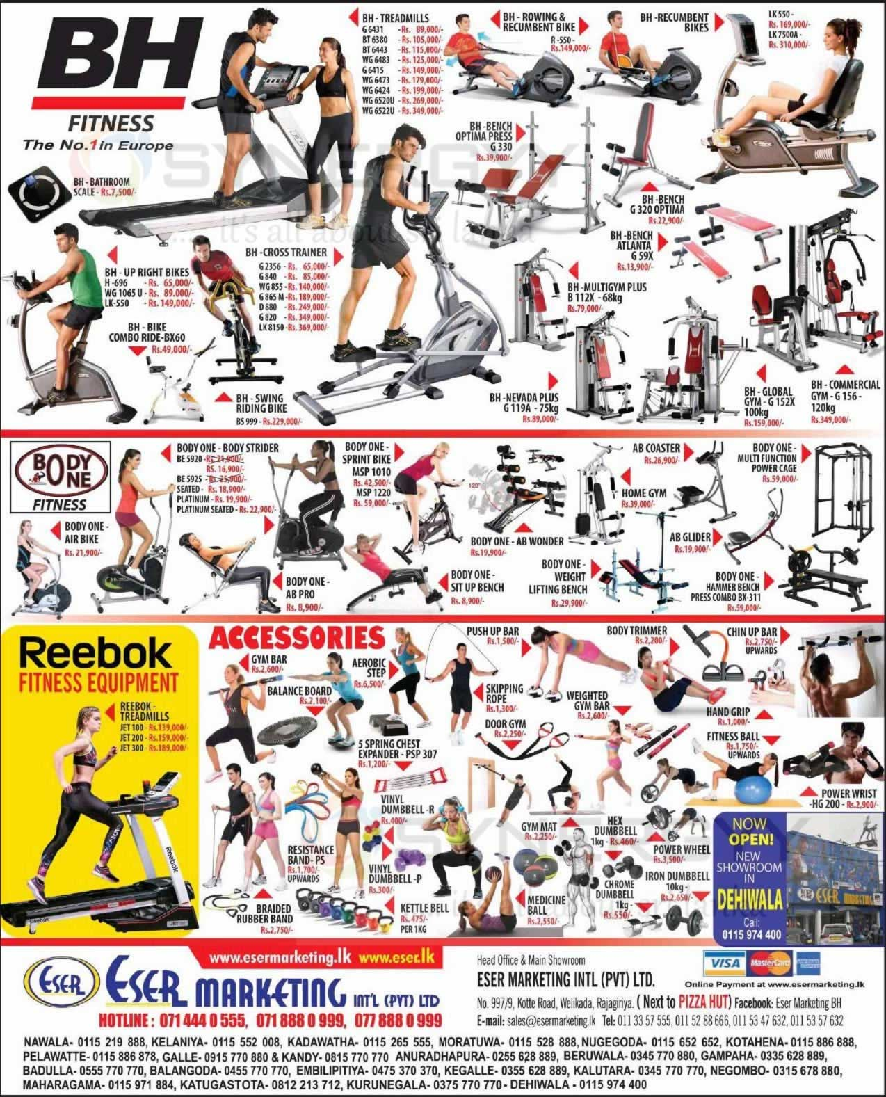 Fitness Equipments Prices In Sri Lanka 171 Synergyy