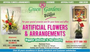 Green Garden Mihiliya – Artificial Flower and Gardening arrangement
