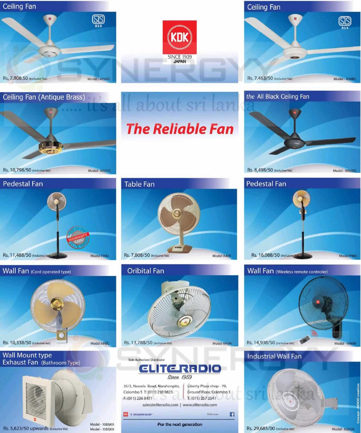 Kdk Ceiling Fans Dealers In Sri Lanka